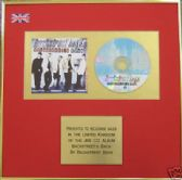 BACKSTREET BOYS - CD Album Award - BACKSTREET'S BACK